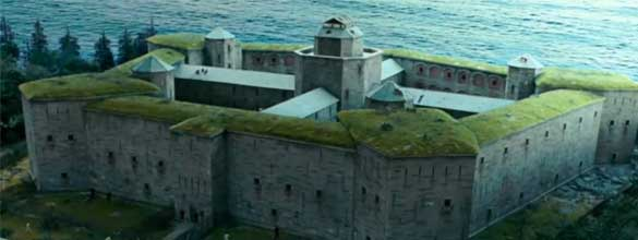 Prigione con Tetto Verde
