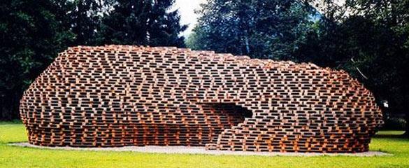 Pallet in legno riciclato
