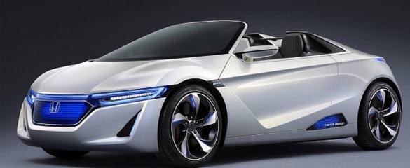Veicolo Auto elettrica della Honda EV-Ster