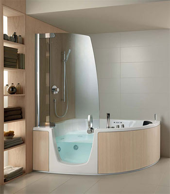 Da Vasca Da Bagno A Doccia Teuco E Le Vasche Angolari Dal Design Moderno Blog Bcasa